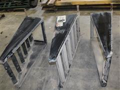 Neville Built Dovetail Fold Down Trailer Ramps