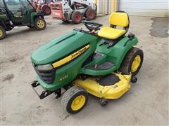 "2008 John Deere X534 AWS Lawn Tractor W/54"" Deck & 47 Snowblower"