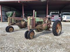 1950 & 1952 John Deere A 2WD Tractors