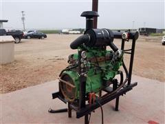 John Deere 6068TF150B Power Unit W/Generator