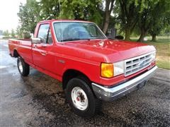 1990 Ford F250 Custom 4x4 Pickup