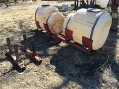 Snyder Industries 200 Gallon Poly Saddle Tanks
