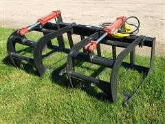 2019 Mid States Skid Steer Brush Grapple