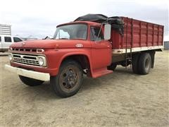 1966 Ford 600 S/A Grain Truck