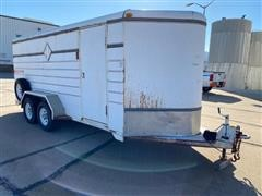 1999 K&O Pace Setter T/A Enclosed Trailer