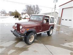 1980 American Motors Jeep CJ-7 Utility Vehicle