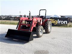 2018 Mahindra 5545 MFWD Compact Utility Tractor W/Loader
