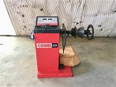 CEMB C29-2EVO Manual-Spin Digital Wheel Balancer
