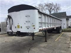 1998 Mac 39 FT Frameless T/A Aluminum End Dump Trailer