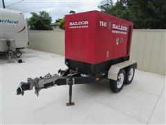 2010 Baldor TS45T T/A 38kw Towable Diesel Generator