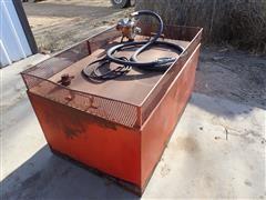 Gasboy 60 12V Fuel Pump And Tank