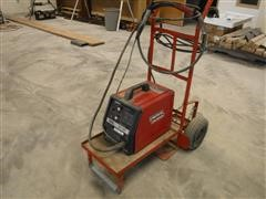 Lincoln Electric SP-100 Wire Welder On Cart