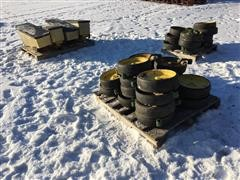 John Deere Depth Wheels & Seed Boxes