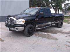 2008 Dodge Ram 3500HD ST/SL 4x4 Quad Cab Dually Pickup