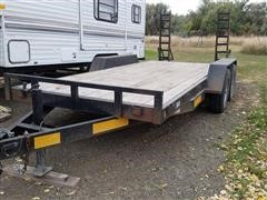 2005 Temco T/A Flatbed Trailer