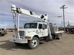 1999 International Navistar 4900 S/A Boom Truck W/National 300B