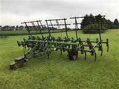 John Deere C21 Cultivator With 3 Bar Harrow