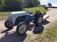 Ford 8N 2WD Tractor W/attachments