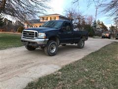 2004 Ford F250 Super Duty 4x4 Pickup