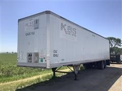 1984 Pines T/A Dry Van Storage Trailer