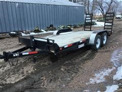 2011 Finish Line T/A Flatbed Trailer