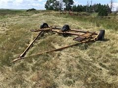 Shop Built Swather Transport Trailer