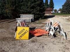 Barriers, Plastic & Steel Signs