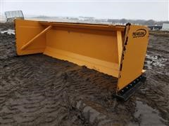 2020 Industrias America 10PT 10' Wide Snow Pusher Loader Attachment