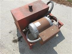 Hydraulic Reservoir And Electric Motor