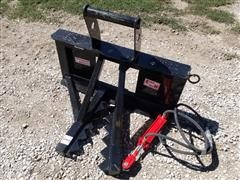 2020 Industrias America Easy Man Skid Steer Mount Tree & Post Puller