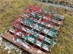 Calf Bottle Feeder Racks