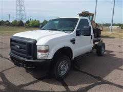 2010 Ford F250 4x4 Cab & Chassis