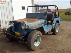 1947 Willys-Overland CJ2 Universal AG Jeep