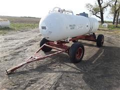 Fuel Tank On Running Gear