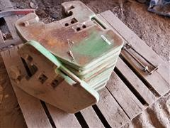 John Deere Front Suitcase Weights