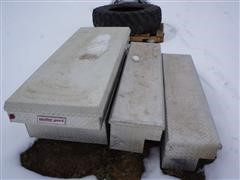 Weather Guard Aluminum Saddle & Side-Mount Toolboxes