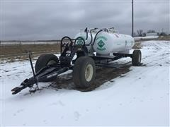 2019 Dalton Ag Running Gear W/Dual 1000-Gal NH3 Tanks