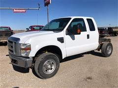 2009 Ford F250XLT Super Duty 4x4 Cab & Chassis