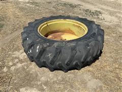 Firestone 18.4R38 Tire & Wheel