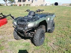 2018 Honda TRX420 Rancher ES 4X4 ATV