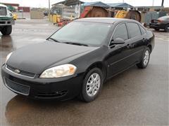 2006 Chevrolet Impala Police Sedan
