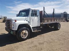 1979 International 1824 Flatbed Dump Truck
