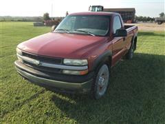 2000 Chevrolet 2500 4x4 Pickup