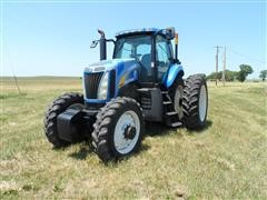 2008 New Holland T8010 MFWD Tractor