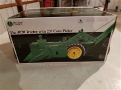 John Deere 4020 Tractor W/237 Corn Picker Precision Classics
