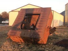 In Ground Grain Dump Pit