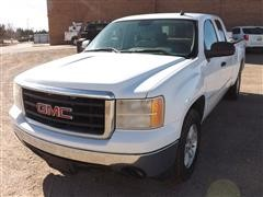 2007 GMC Sierra 1500 Extended Cab 4X4 Pickup