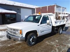 1998 Chevrolet Cheyenne 3500 Dually Pickup w/ Dump Bed