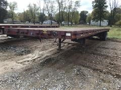 1988 Clark T/A Flatbed Trailer
