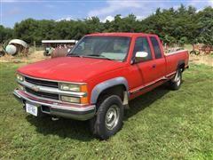 1994 Chevrolet K2500 4x4 Extended Cab Pickup